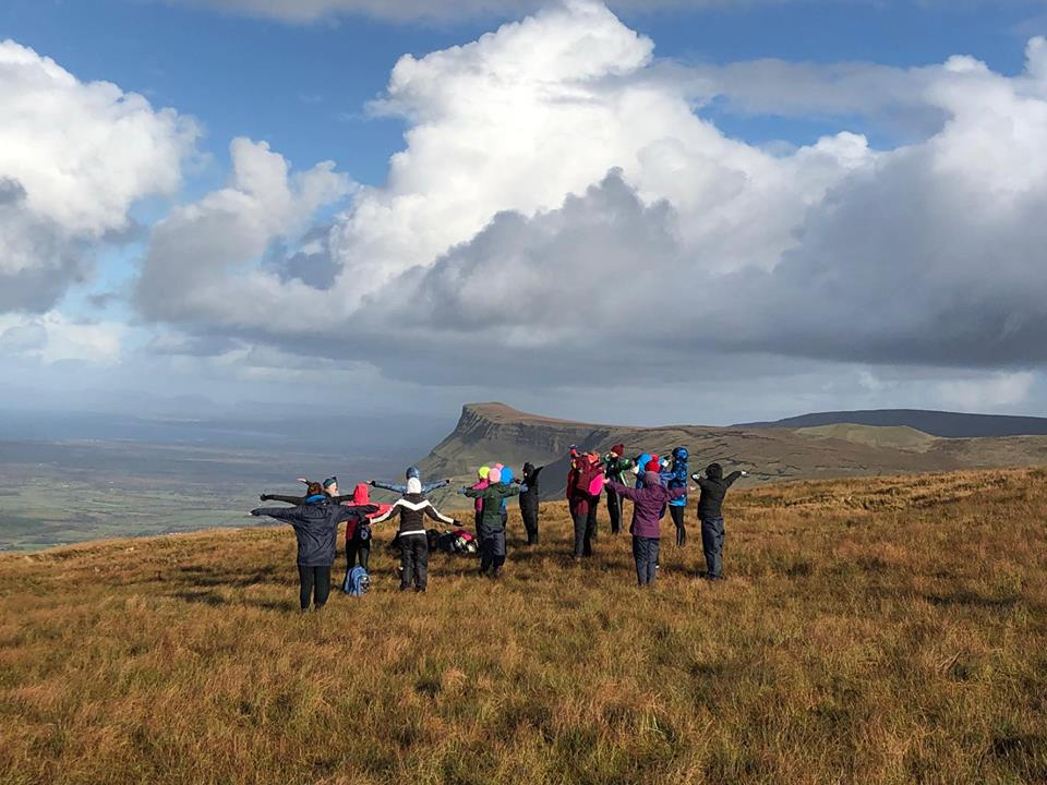 Benbulben Yoga Hike Nov '17 3
